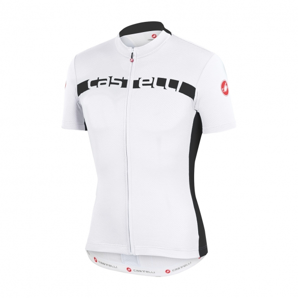 Castelli Prologo 4 jersey white/black men 15017-101  CA15017-101