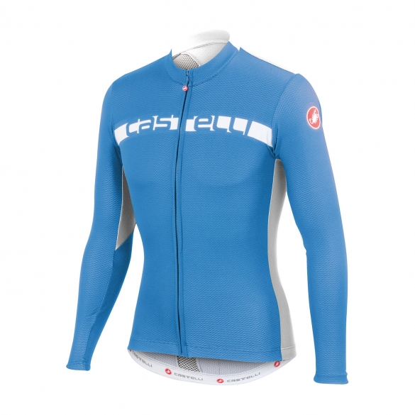 Castelli Prologo 4 long sleeve jersey blue men 15017-059  CA15018-059