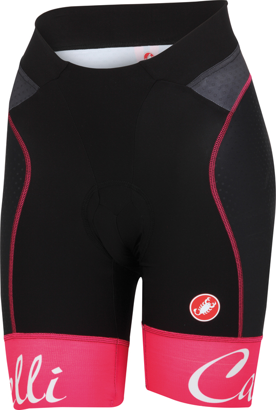 Castelli Free aero W short black/raspberry women 15045-011  15045-011