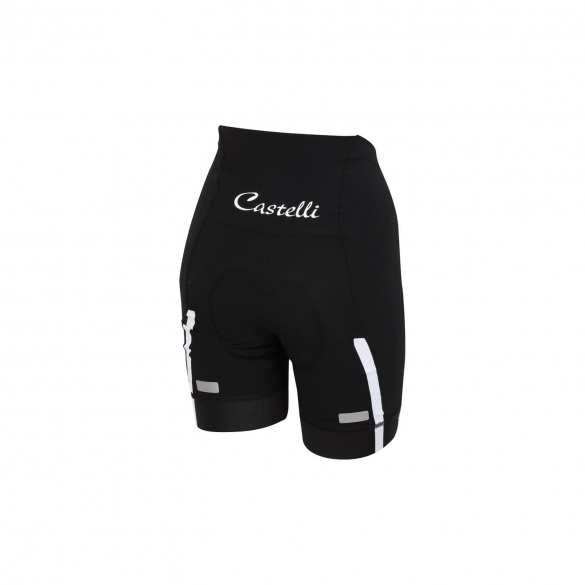 Castelli Velocissima W short black/white women 15047-101  CA15047-101