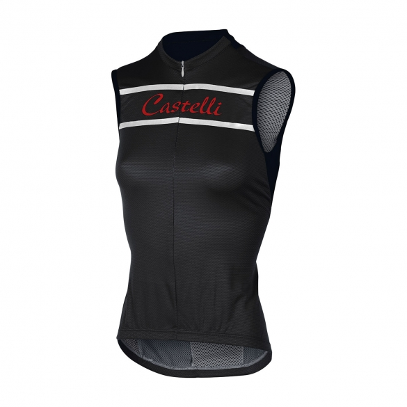 Castelli Promessa sleeveless jersey black women 15053-010  CA15053-010