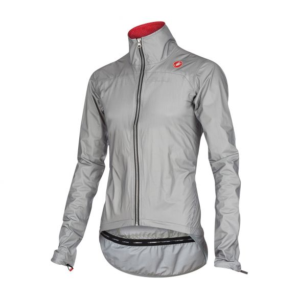 Castelli Tempesta race jacket grey mens 15510-008  15510-008