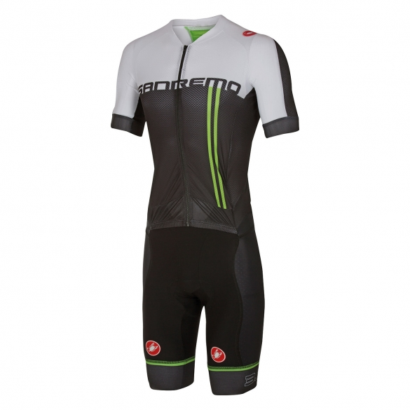 Castelli Sanremo 3.2 speed suit black/white men 16000-010  CA16000-010