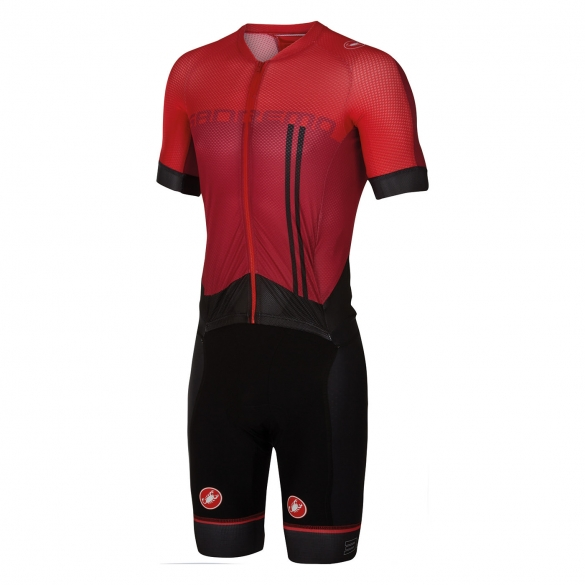 Castelli Sanremo 3.2 speed suit red men 16000-017  CA16000-017