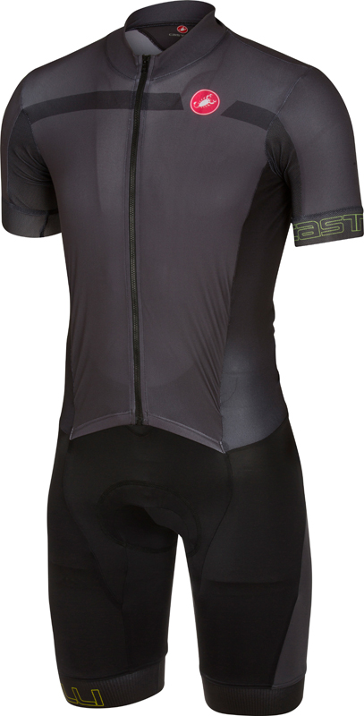 Castelli Velocissimo sanremo speedsuit anthracite/black men 16005-009  16005-009