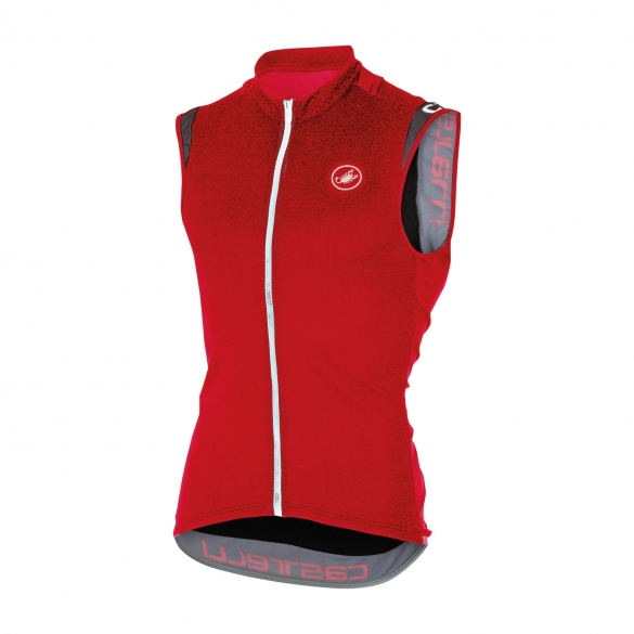 Castelli Entrata 2 sleeveless jersey red men 16014-023  CA16014-023