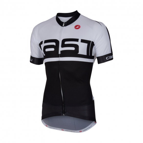 Castelli Meta jersey black/white men 16016-101  CA16016-101