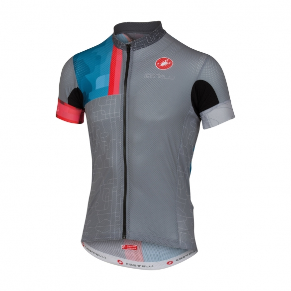 Castelli Rodeo jersey grey men 16019-008  CA16019-008
