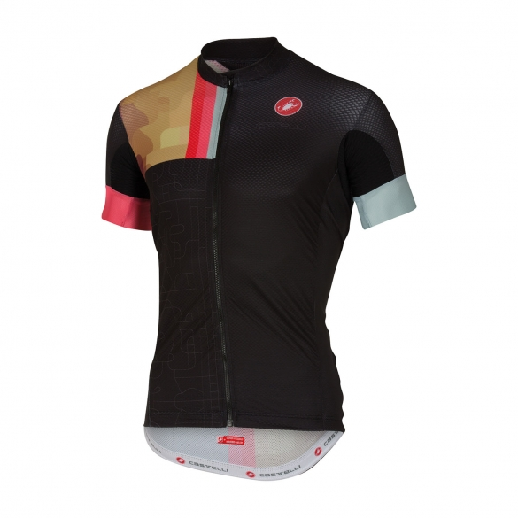 Castelli Rodeo jersey black men 16019-010  16019-010