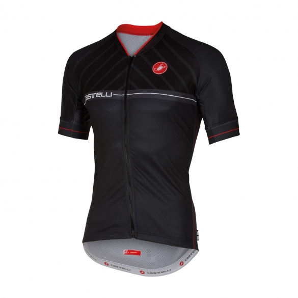 Castelli Scotta jersey black men 16020-010  CA16020-010
