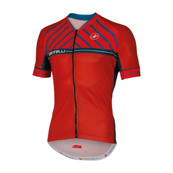 Castelli Scotta jersey red men 16020-023  CA16020-023