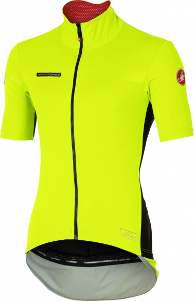 Castelli Perfetto light short sleeve jersey yellow men 16045-032  CA16045-032