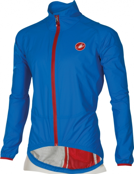 Castelli Riparo rain jacket blue men 16050-059  16050-059