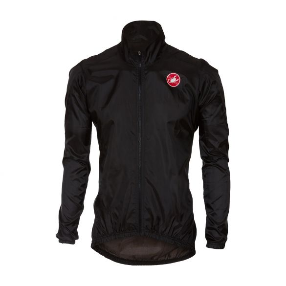 Castelli Squadra jacket rainjacket black men  17507-010