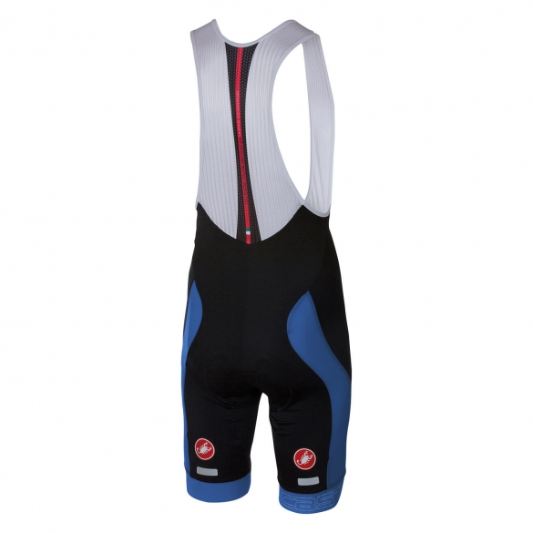 Castelli Velocissimo bibshort black/blue men 16003-059  CA16003-059