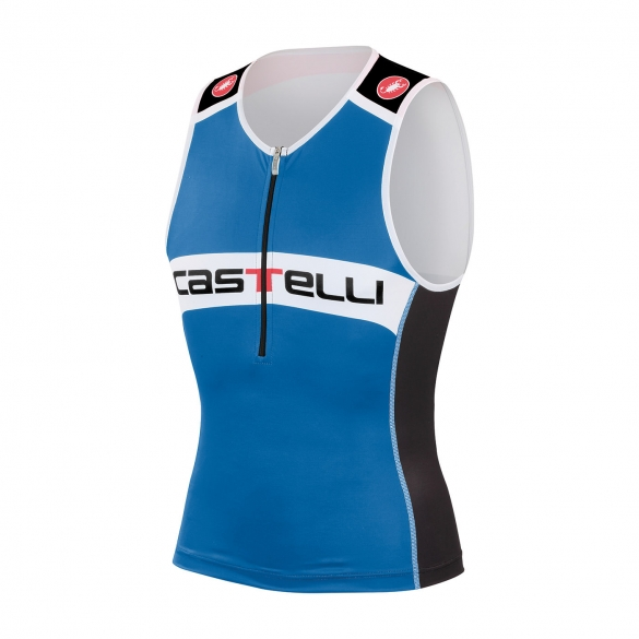 Castelli Core tri top black/blue men 14108-059  CA14108-059