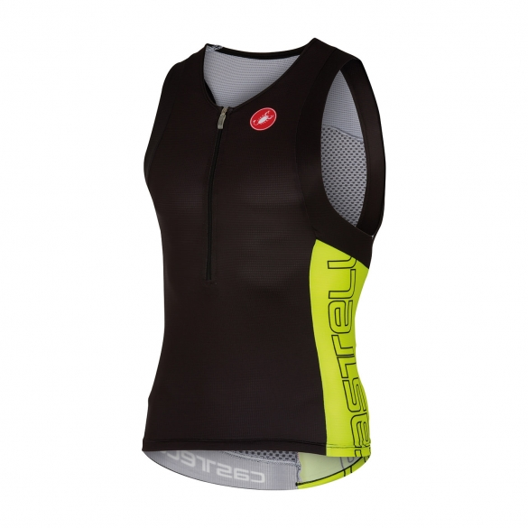 Castelli Free tri top men black/yellow 16069-321  cA16069-321