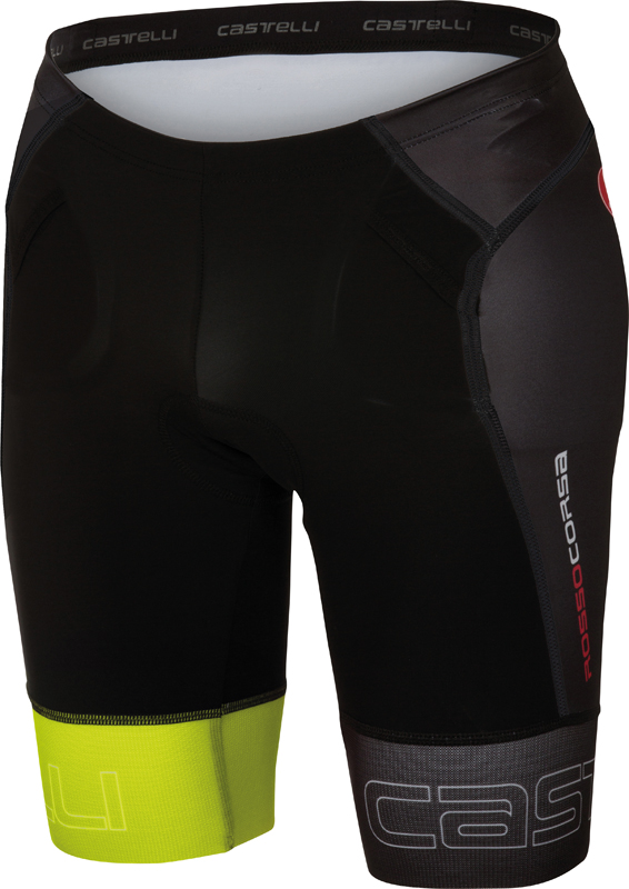 Castelli Free tri Short black/yellow men 16070-321  16070-321