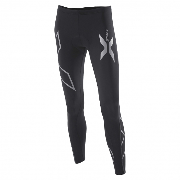 2XU women's Compression Cycle Tights black (WC2030b)  WC3020BVRR