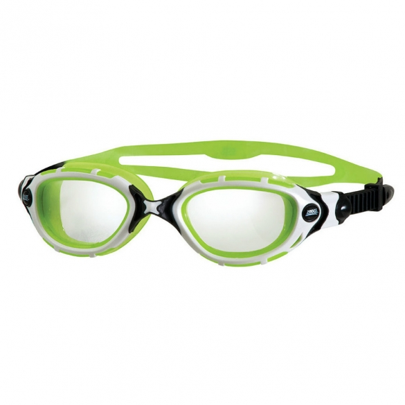 Zoggs Predator Flex Reactor goggles white/black/green  300846