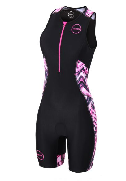 Zone3 Activate plus sleeveless trisuit Electric vibe women  TS18WACP114