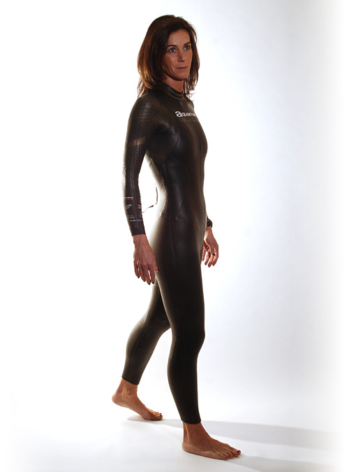Aquaman Cell gold Fullsleeve wetsuit women  AGOL19