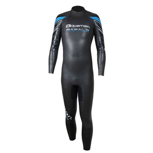 Aquaman Rafale fullsleeve wetsuit black/blue men  ARA19