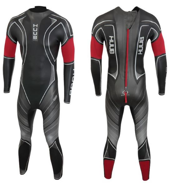 Huub Archimedes III 4:4 wetsuit black men  ARCH44