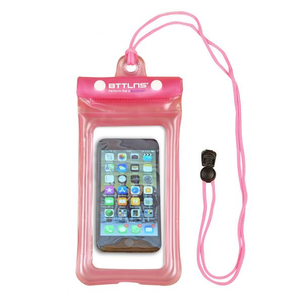 BTTLNS Endymion 1.0 floating waterproof phone pouch pink  0620001-072