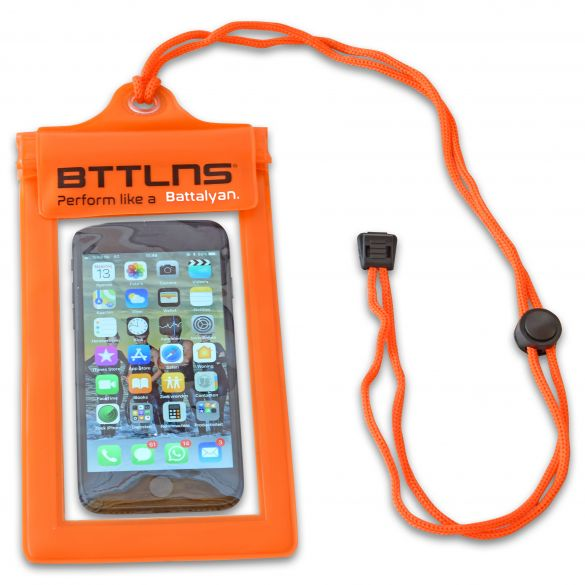 BTTLNS Waterproof phone pouch Iscariot 1.0 orange  0317011-034