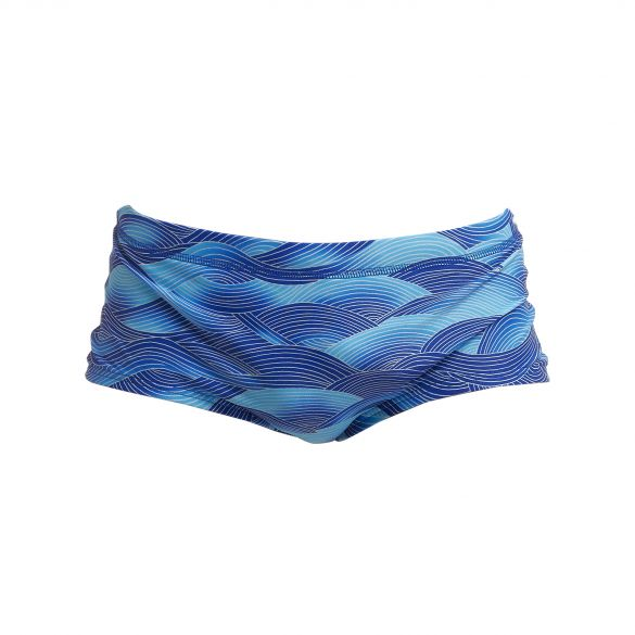 Funky Trunks Cold Current plain front Trunk swimming men  FT01M70959