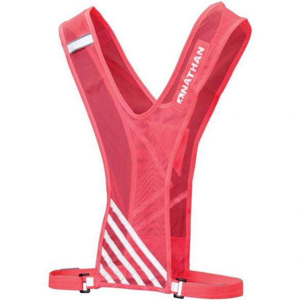 Nathan Bandolier Reflection/safety vest red  00975394