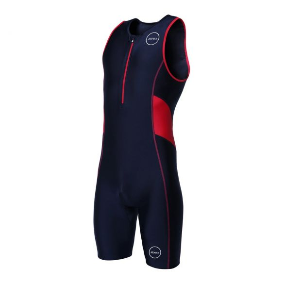 Zone3 Activate sleeveless trisuit black/red men  TS18MACT108