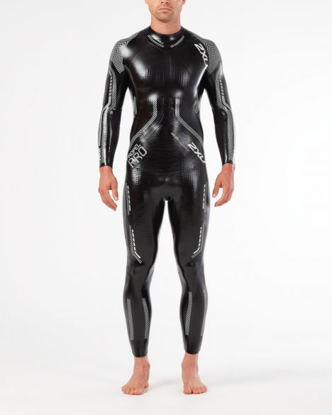 2XU Propel pro full sleeve wetsuit black/silver men  MW5124c-BLK/SIL