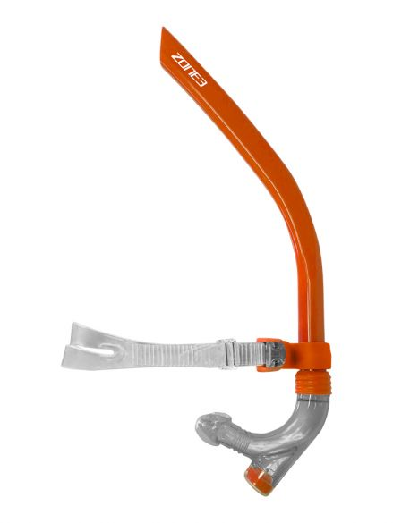 Zone3 Front facing snorkel orange  SA18FFS