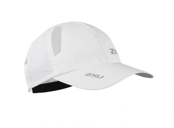 2XU Run Cap white  UR1188f-WHT/WHT