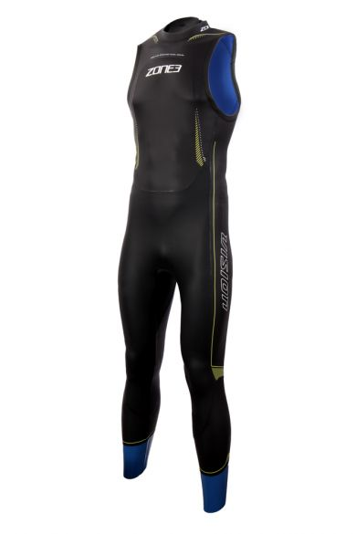Zone3 Vision sleeve less wetsuit men  WS18MSLV101