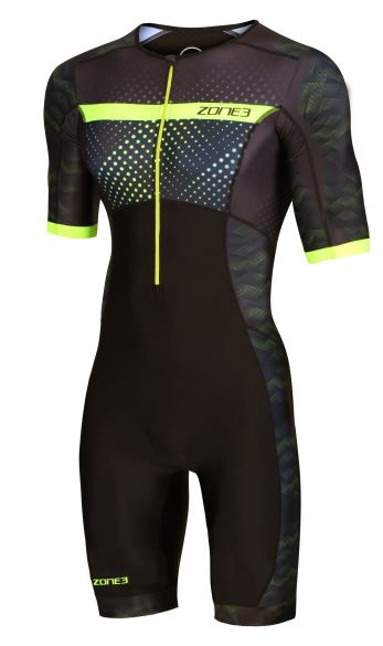 Zone3 Activate plus short sleeve trisuit Revolution men  TS20MREV109