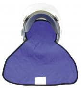 HyperKewl evaporative cooling crown cooler with neck shade