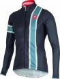 Castelli Storica jersey FZ anthracite/blue stone mens 15532-009