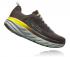 Hoka One One Bondi 6 running shoes black/yellow men  1019269-BOPV